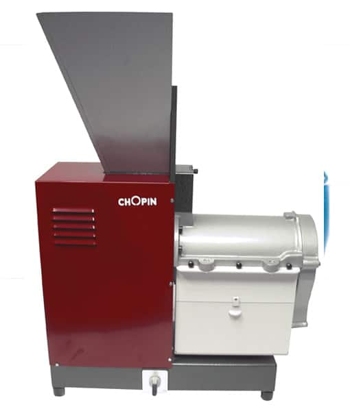 Bran finisher Optimise the extraction rate of your test flour.