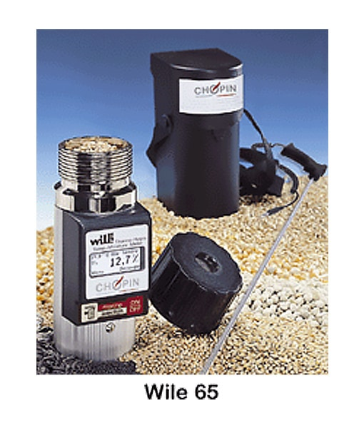 PORTABLE MOISTURE METER: WILE 55 / WILE 65