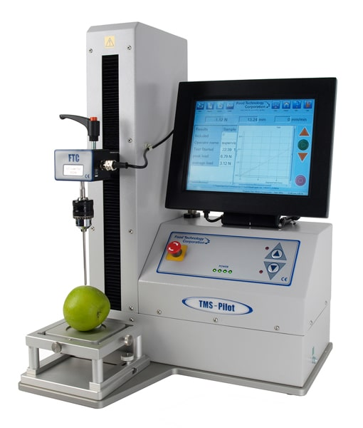 Touch screen texture analyzer